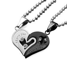 s day pendants uloveido stainless steel necklaces pendants heart necklaces