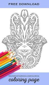 free jewel coloring phoenix brooch coloring adults