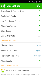 best android diabetes tracker mynetdiary