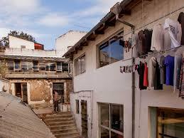 under construction restoring an urban historical center quito