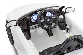 Audi R8 Gt Spyder - kidtrax audi r8 spyder gt 6 volt powered white ride on walmart