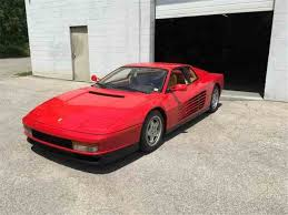 1987 testarossa for sale testarossa for sale on classiccars com 18 available