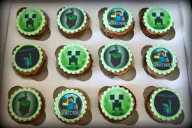 minecraft cupcakes minecraft edible topper cupcakes sweet nothings