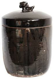 black kitchen canisters black ceramic jar foo lid rustic kitchen canisters and