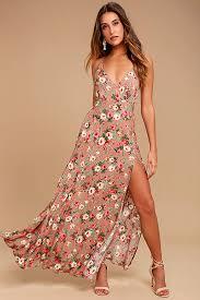floral maxi dress stunning blush floral print dress floral maxi dress sundress