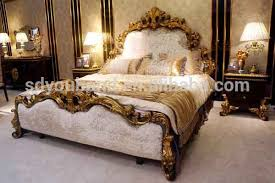 Arabic Royal Luxury Classic High Quality Wooden Bedroom - High quality bedroom furniture