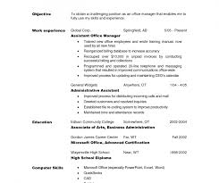 resume objective statement for restaurant management stupendousnt resumeive statement administrative assistant sles