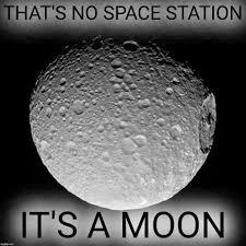 Moon Meme - that s no space station it s a moon meme