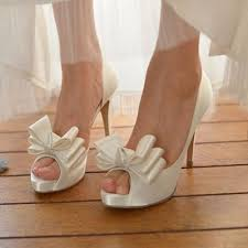 wedding shoes size 12 2016 open toe bowtie wedding shoes women pumps white pink high