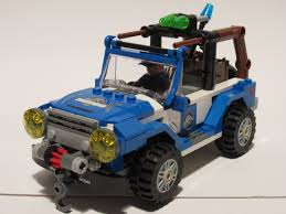 jurassic park car toy mint in box lego jurassic world u2013 75916 dilophosaurus ambush