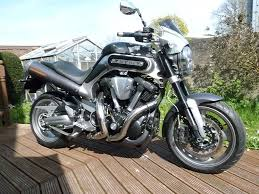 yamaha mt 01 1700cc v twin 2010 reg mk2 model only 4000 miles