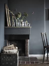 Dark Walls Dark Walls And A Mix Of Chairs Coco Lapine Designcoco Lapine Design