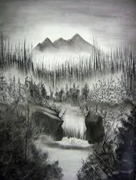 beautiful pencil drawings of nature beautiful sketches of nature
