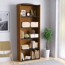 Leaning Ladder 5 Shelf Bookcase Furniture Home Corcoran A Frame Leaning Bookcase Modern Elegant