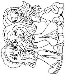 bratz coloring pages 6 coloring kids
