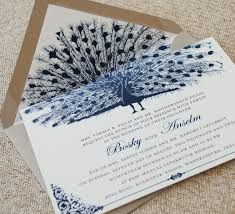 Best Wedding Invitation Cards Designs Unique Peacock Wedding Invitation Serendipity Beyond Design