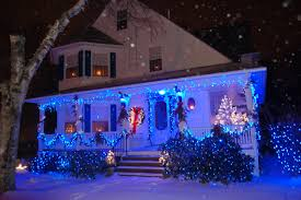 blue white christmas lights indoor christmas decorating ideas interior design styles and the