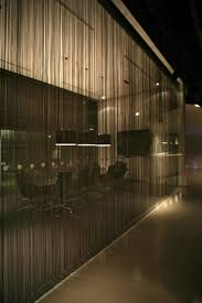 Office Partition Curtains Nice Idea For A Front Conference Room Partition Which Would Still