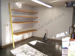 How To Build Garage Storage Shelving by How To Build Basic Garage Storage Shelving Handyman Tips And