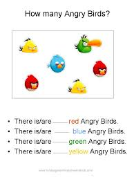 free angry birds math worksheets kindergarten