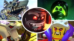 Lego Ninjago Halloween Costume Lego Ninjago Movie Videogame Bosses