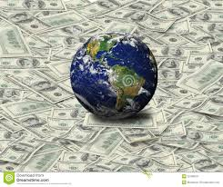 dollar floor global sit on dollar banknote stock photo image of green talks
