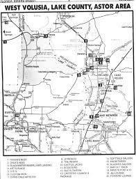 Eustis Florida Map by Bar Guide Biker Online Guide