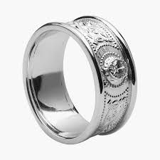 mens engagement rings white gold deluxe mens wedding bands 442 00 weddings stuffs