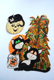 vintage halloween decorations reproductions vintage halloween paper decorations