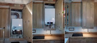 comment installer une cuisine comment cacher une chaudiere dans une cuisine maison design