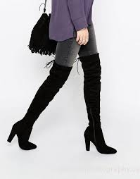 womens thigh high boots canada desire tie back heeled thigh high boots womens shoes