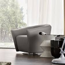 Leather Swivel Armchairs Swivel Armchair Fabric Or Leather