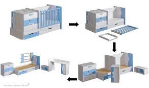 chambre bébé modulable lit bébé évolutif niki