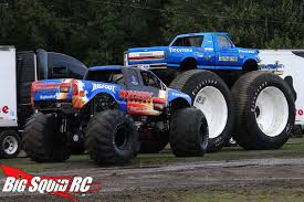 rc monster trucks videos bigfoot open house trigger king monster truck race14 big squid