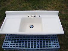 Apron Sink With Backsplash by Antique Farmhouse Sinks Ebay