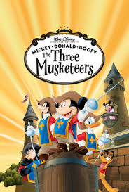 mickey donald goofy musketeers