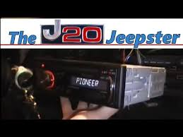 installing amp and stereo in a 96 jeep cherokee youtube