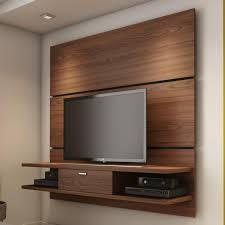 living room built in center balck cabinet wall mounted tv units