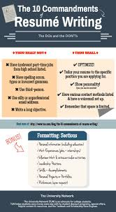 writing college resume 74 best internship career advice tips images on pinterest the 10 commandments of resume writing the dos and the don ts when college clubcollege tipsresume