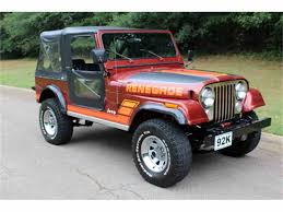 old jeep wrangler 1980 classic jeep cj7 for sale on classiccars com pg 2