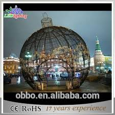 Led Christmas Decoration Lights Products by Giant Christmas Led Ball Outside Christmas Decorative Garden