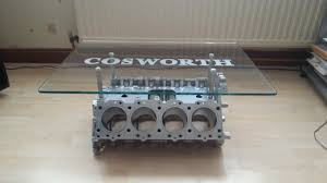 cosworth f1 dfv engine coffee tables uk