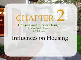 Image Shutterstockcom CHAPTER  Influences On Housing Housing And - Housing and interior design