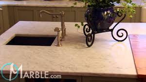Carrara Marble Kitchen by White Carrara Marble Kitchen Countertops By Marble Com Youtube
