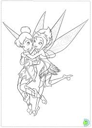 tinkerbell secret wings coloring pages dinokids org
