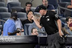 yankees fan ejected for trying to tip pitches for gary sanchez
