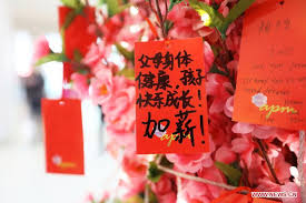 New Year Food Decoration by Lunar New Year Wishes 1 Chinadaily Com Cn