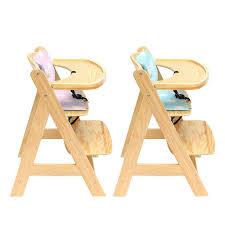 chaise haute b b bois chaise haute bebe bois bio baby 3 en 1 réglable à manger chaise en