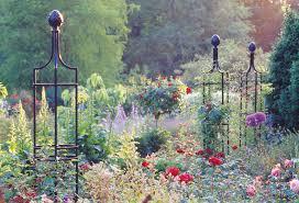 garden obelisks for cascading colour and scent classic garden