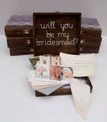 ideas to ask bridesmaids to be in wedding another bridesmaid box i the idea of liquor maybe a ring